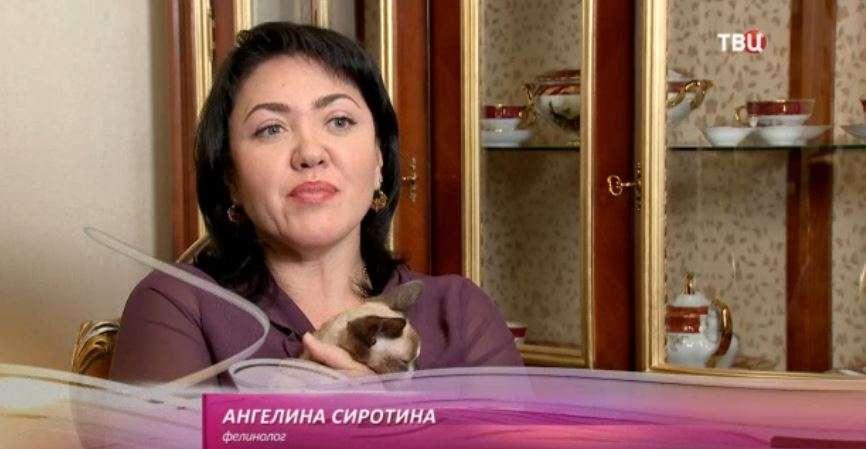 Ангелина Сиротина на ТВЦ